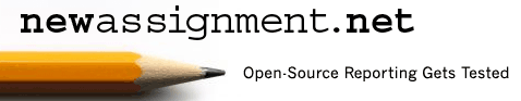 """NewAssignment.Net's mission is to spark innovation in """"open platform"""" journalism, distributed reporting and what's now called crowdsourcing."""